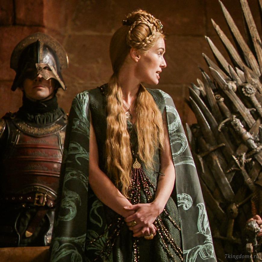 """cersei green2 - О чем могут рассказать костюмы героев """"Игры престолов"""""""