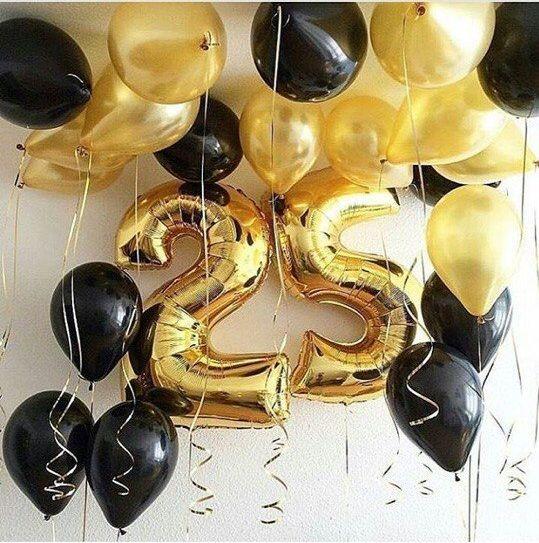 Шарики-цифры на день рождения