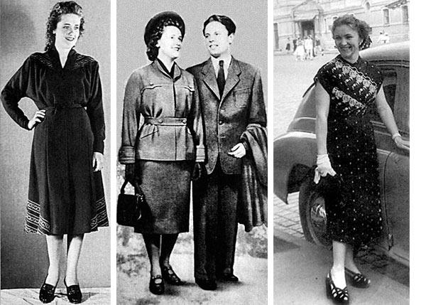 011 - Особенности женской моды в советские времена