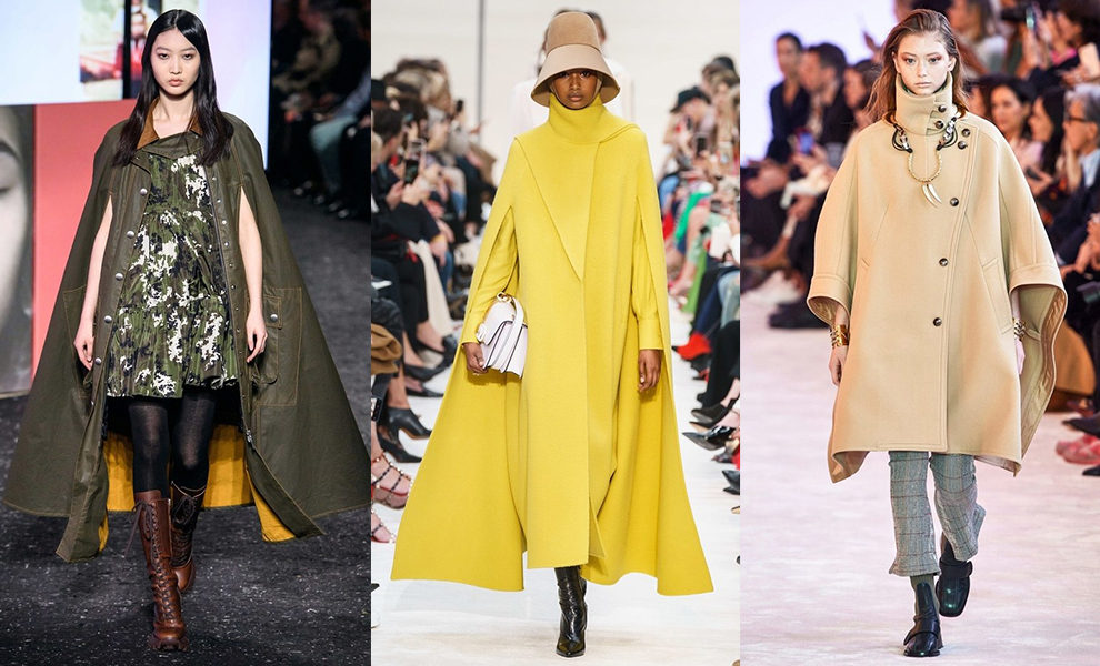 модные кейпы 2019
