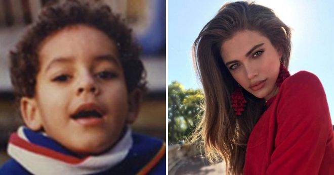 Валентина Сампайо до и после