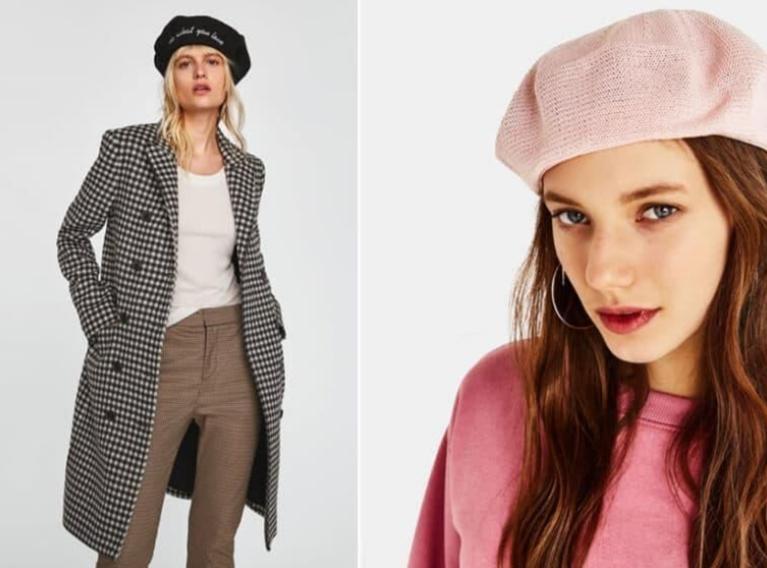 beret2 - Модные шапки и панамы – тренды 2020 года