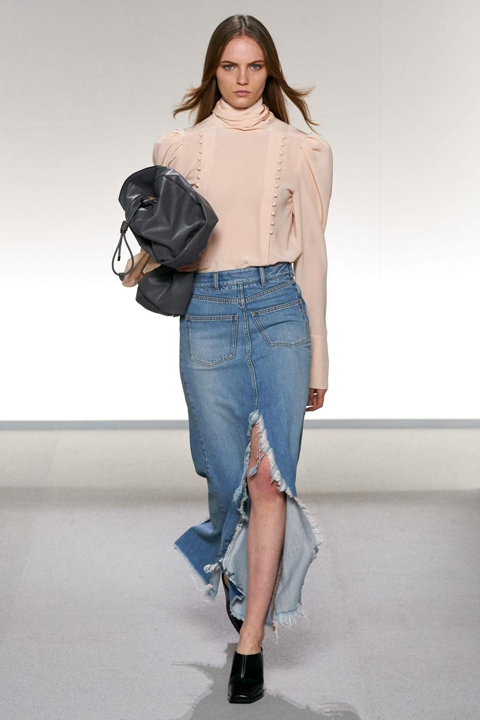 джинсовая юбка 2019