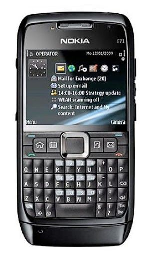 Nokia E71 - Телефонная история