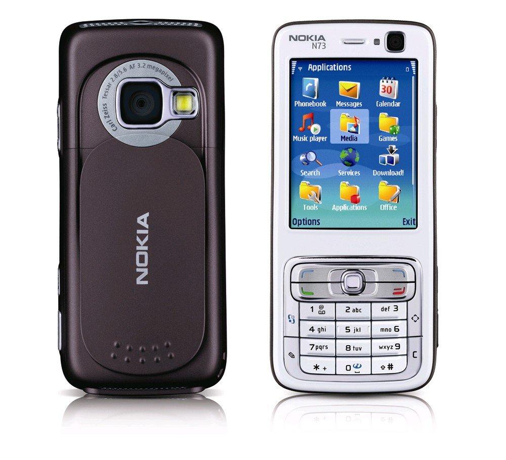 Nokia N73 - Телефонная история