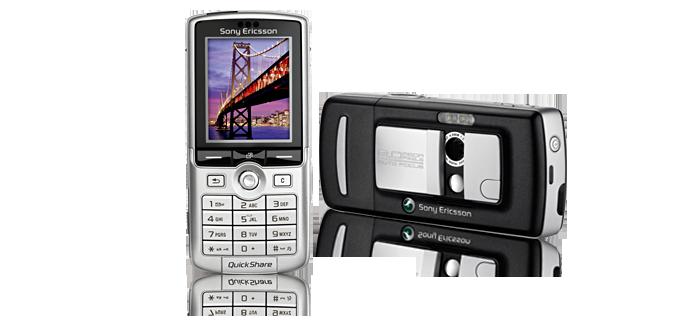 Sony Ericsson K750i - Телефонная история