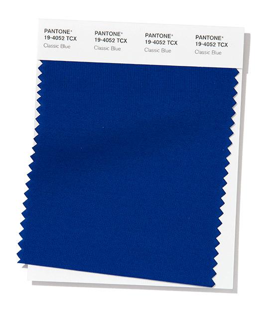 Пантон классический синий цвет