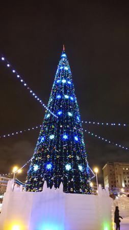 elka rostov - Самые красивые новогодние елки России и Европы 2020