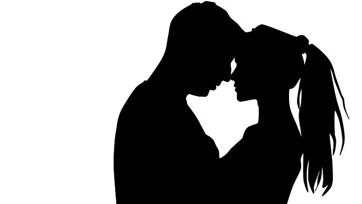 силуэт мужчины и женщины