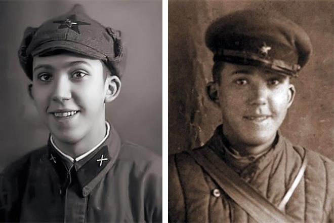 Юрий Никулин в молодости