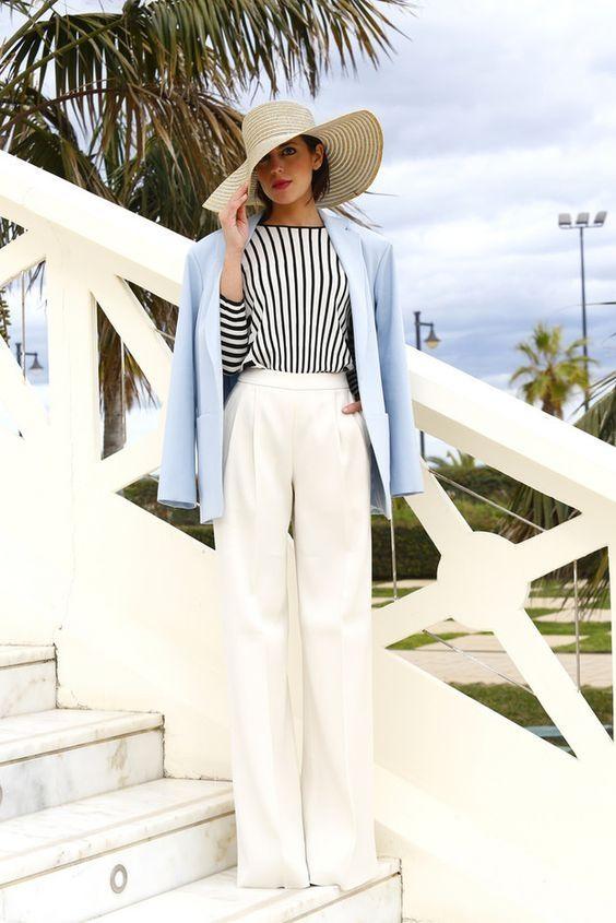 belye bryuki - Самые стильные брюки для лета 2020