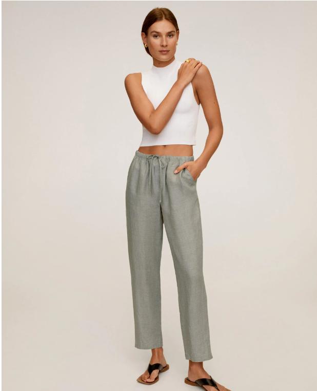 lnyanye bryuki - Самые стильные брюки для лета 2020