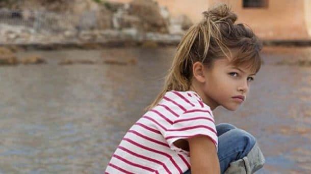 Тилан Блондо в детские годы