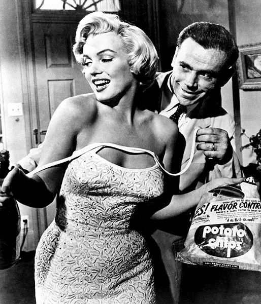 Marilyn Monroe Seven Year Itch - Учимся стилю звезд: Мэрилин Монро