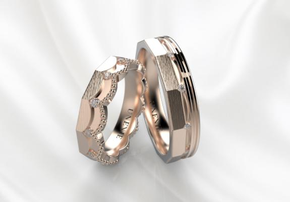 обручальные кольца нестандартной формы