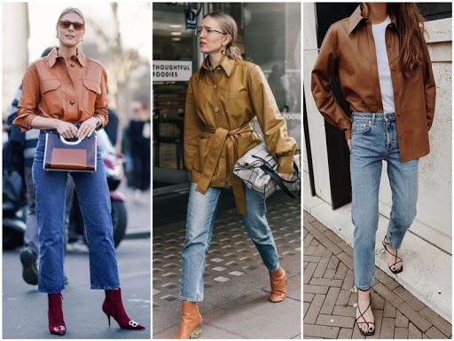 kozhanaya rubashka - 6 трендов Осени 2020 в одежде