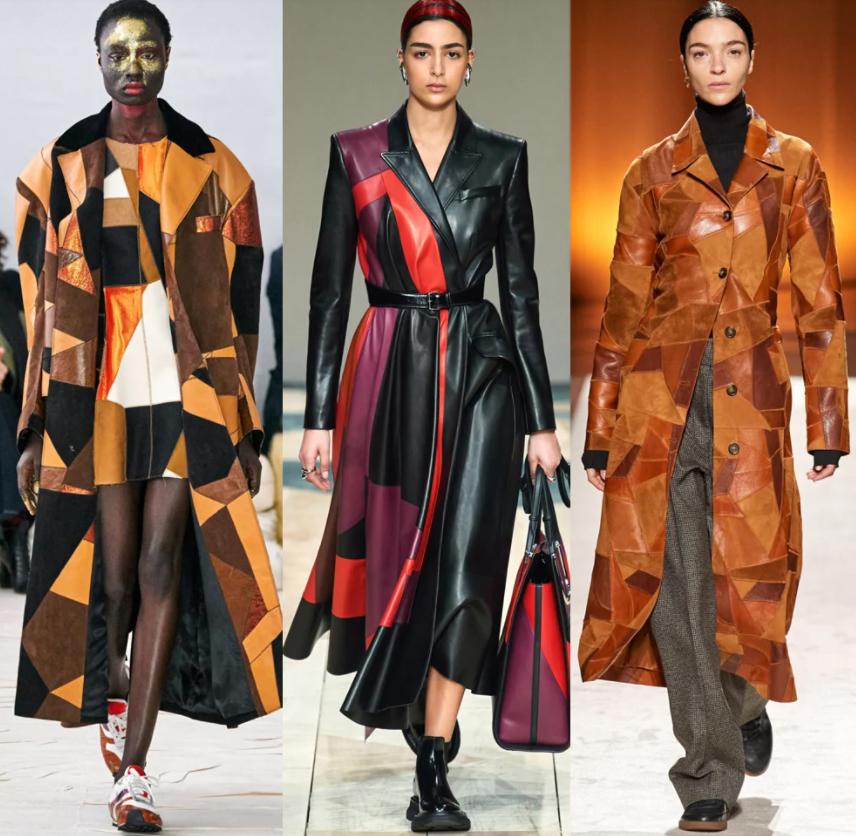 palto kozhanoe - Модные идеи для осеннего пальто