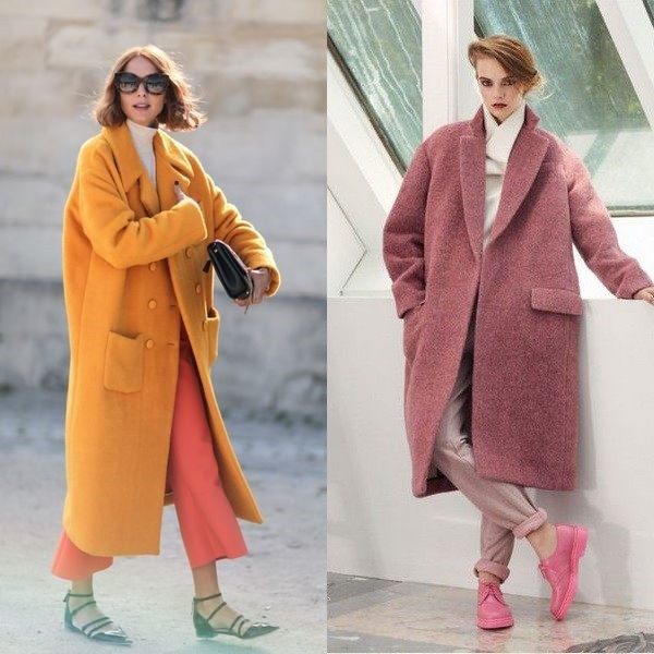 palto oversajz - Модные идеи для осеннего пальто
