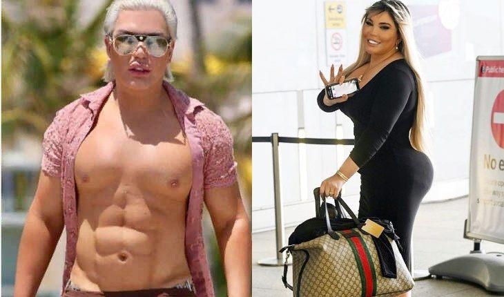 Dzhessika1 - Родриго Алвес превратился из Кена в Барби