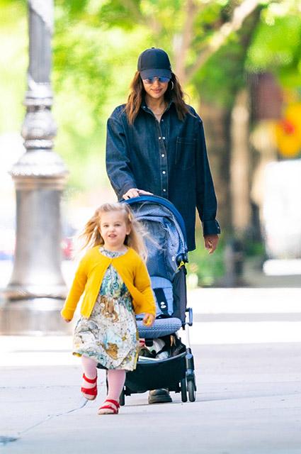Дочь Ирины Шейк - юная голливудская модница