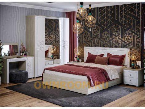 Modulnaya spalnya Ameli komplekt 1 470x353 - Где купить качественную мебель