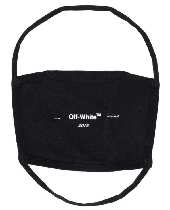 Off White - Самый стильный аксессуар 2020 - маска