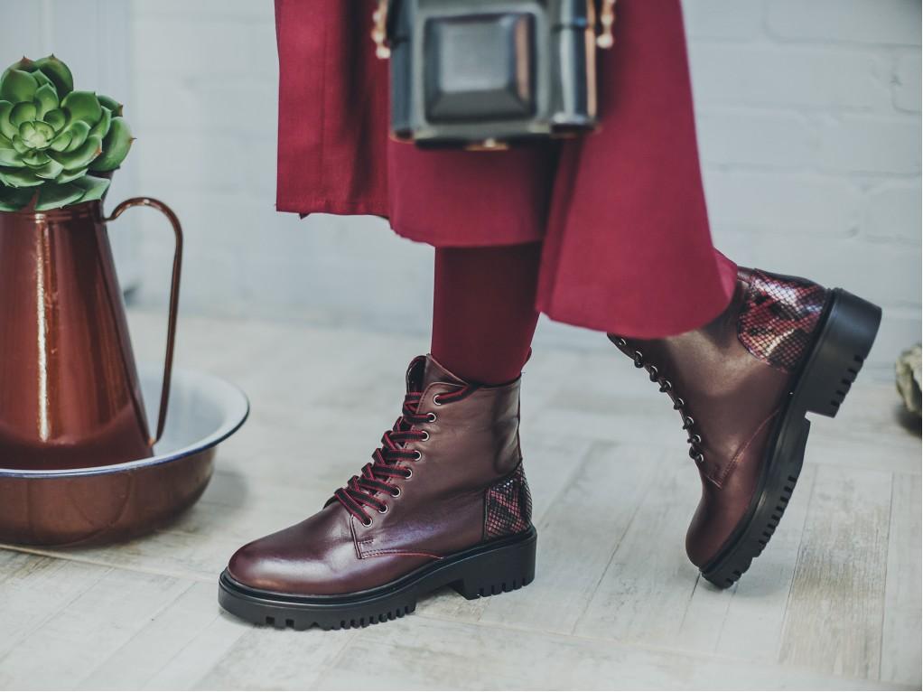 grubye botinki1 - 6 идей стильной обуви на холодную осень 2020