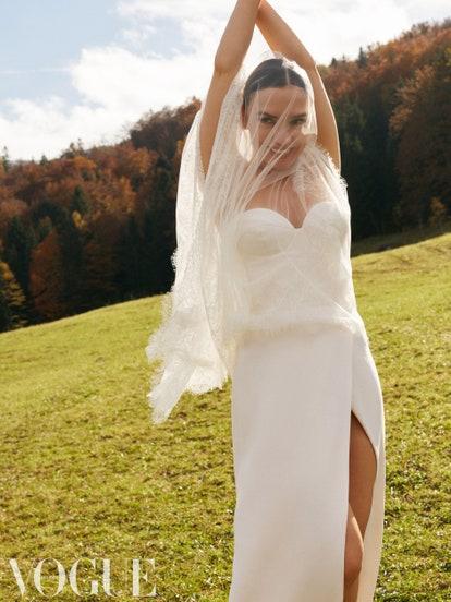 3 свадебных платья Ольги Серябкиной