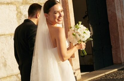 свадебный наряд Ольги Серябкиной