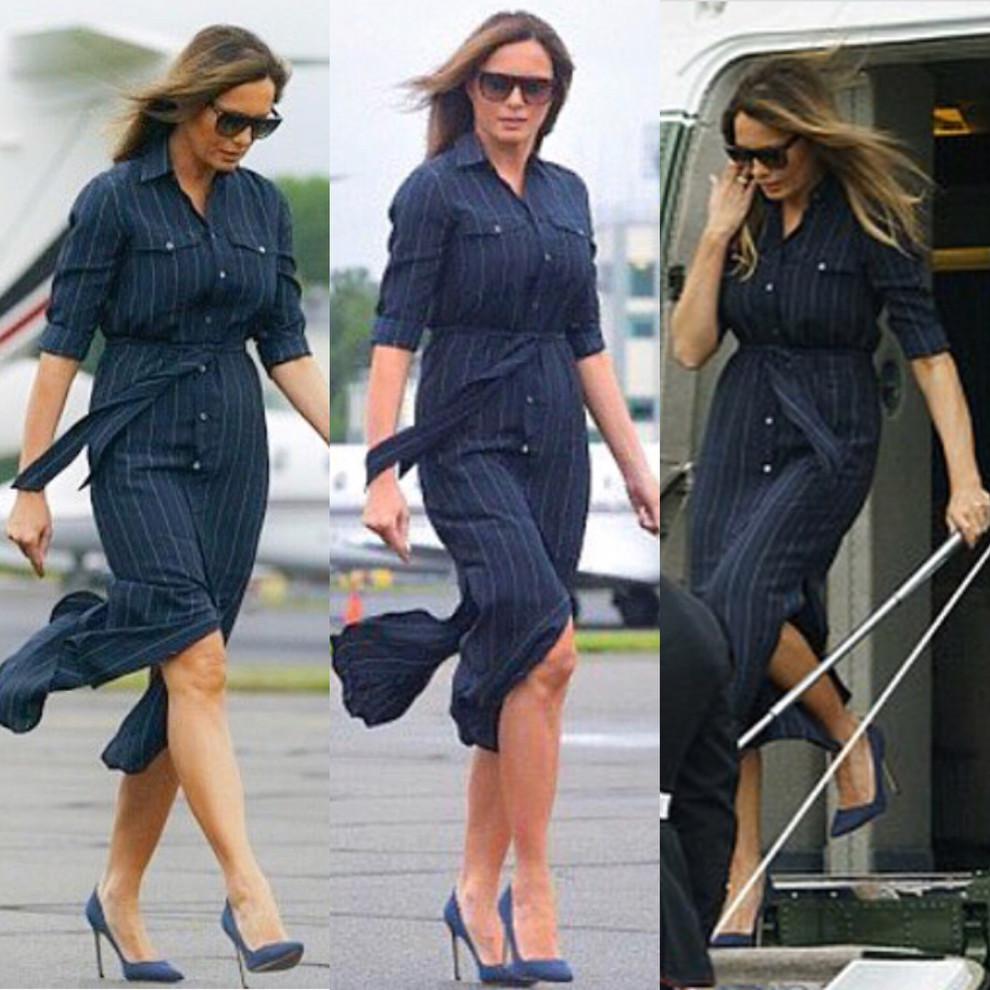 Melaniya printy - Мелания Трамп разводится с мужем? Как первая леди выдерживала деловой стиль и стала иконой моды