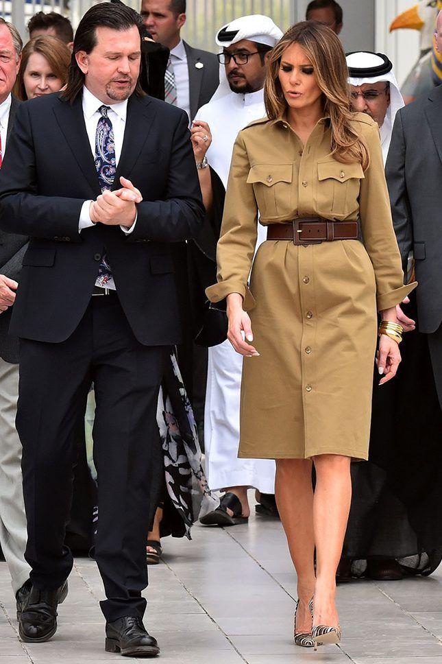 Melaniya1 - Мелания Трамп разводится с мужем? Как первая леди выдерживала деловой стиль и стала иконой моды
