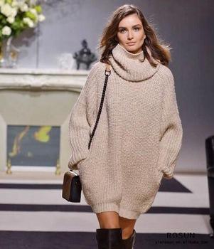 платье-свитер 2020