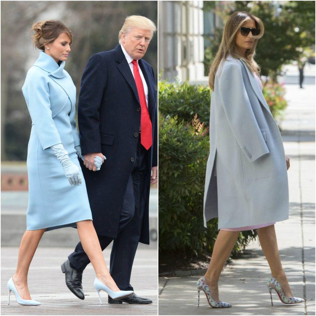 stil Melanii - Мелания Трамп разводится с мужем? Как первая леди выдерживала деловой стиль и стала иконой моды