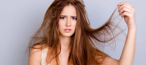 Сухие волосы фото