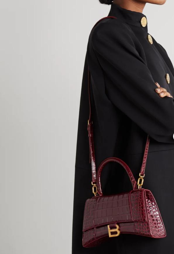 Balenciaga Hourglass - Самые модные сумки зимы 2020-2021