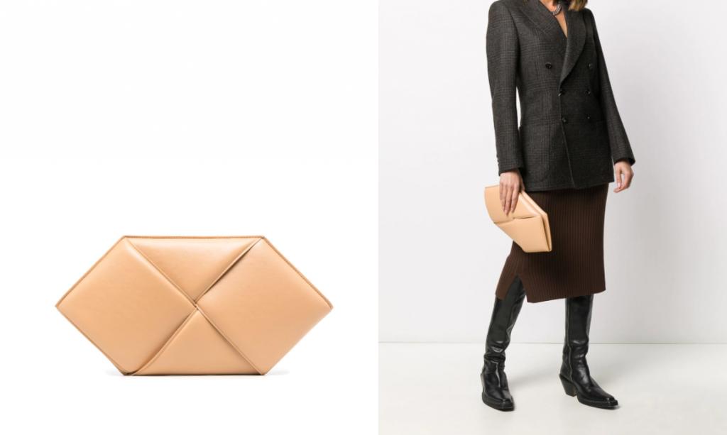 Bottega Veneta klatch 1024x613 - Самые модные сумки зимы 2020-2021