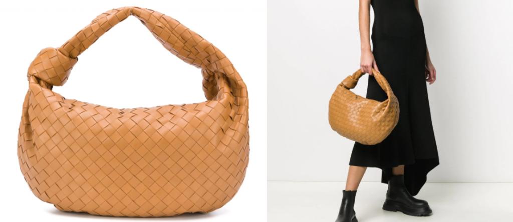 Bottega Veneta na plecho 1024x444 - Самые модные сумки зимы 2020-2021