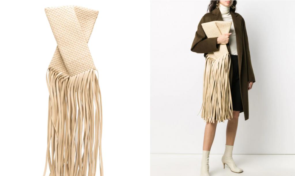 Bottega Veneta s bahromoj 1024x610 - Самые модные сумки зимы 2020-2021