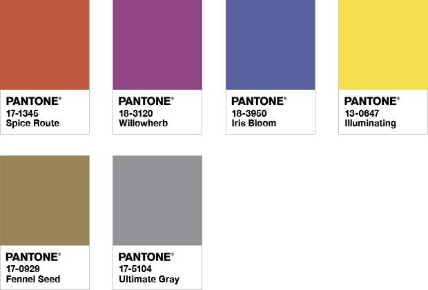Intriga - Pantone объявил главные цвета 2021 года