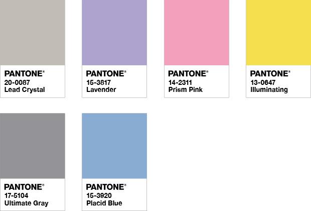 Prosveshhenie - Pantone объявил главные цвета 2021 года