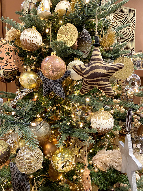 dikij glamur2 - Как украсить елку к Новому году 2021