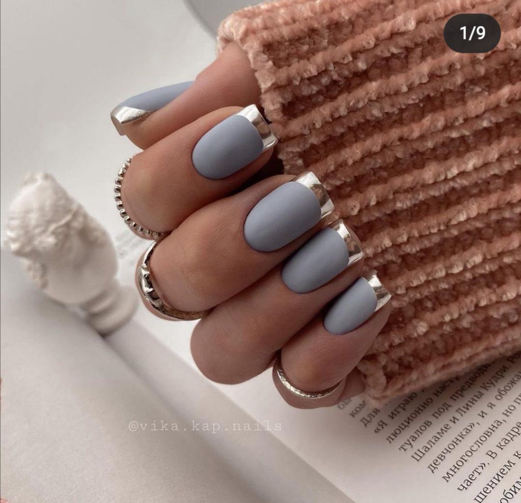 металлические ногти