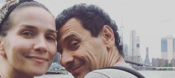 Наталия Орейро с мужем