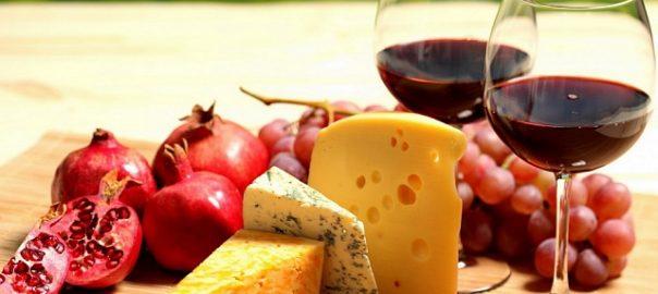 сыр и вино для здоровья