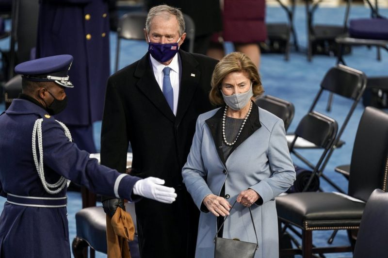Bush - Инаугурация Байдена - самое модное событие января