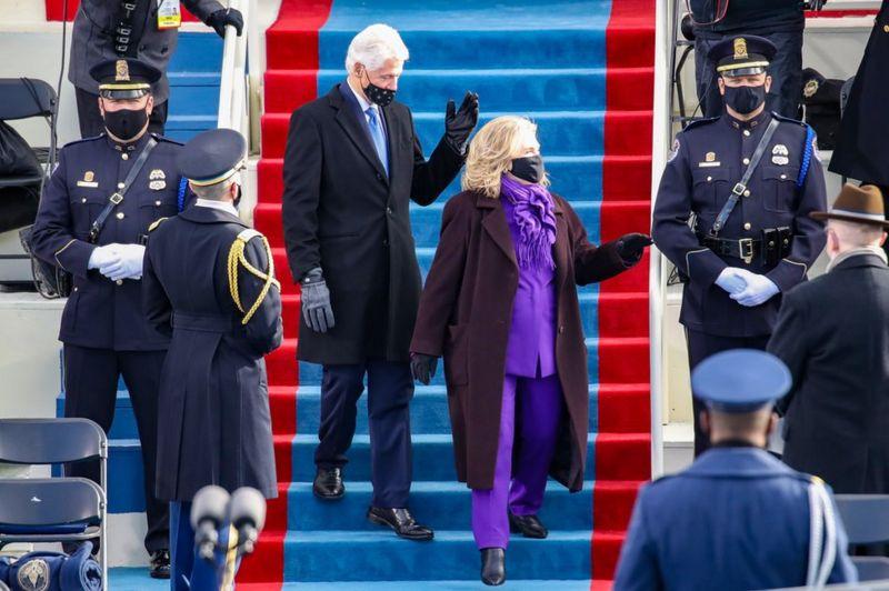 Klinton - Инаугурация Байдена - самое модное событие января