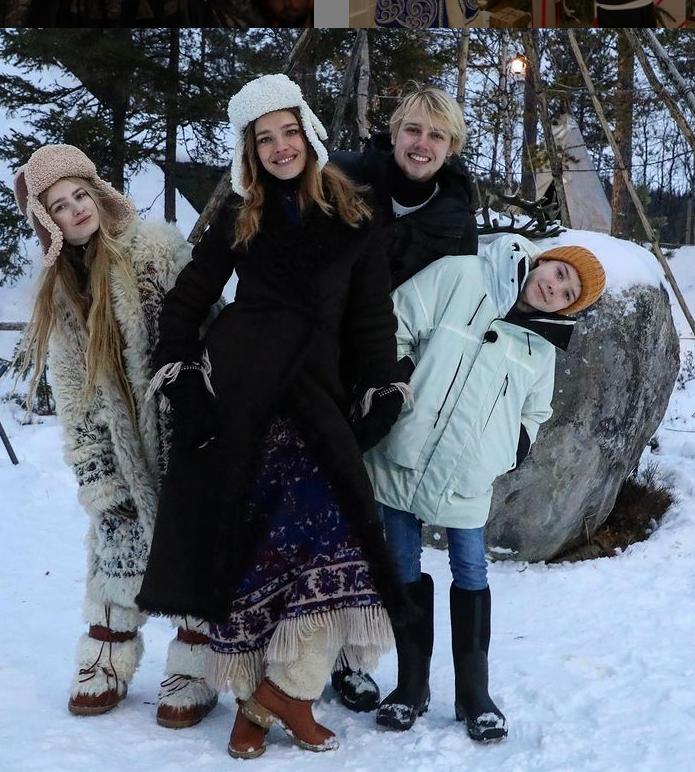 Vodyanova2 - Высокая мода на Севере: лучшие образы Натальи Водяновой