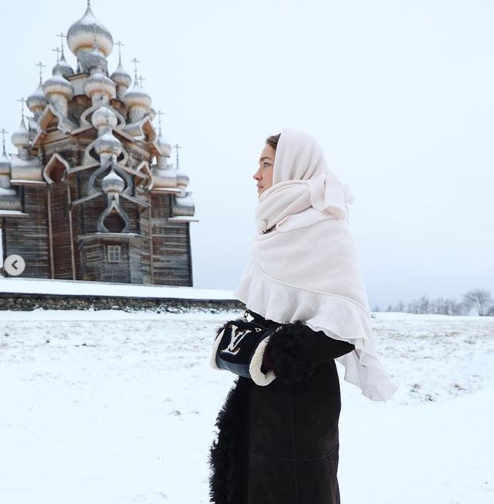 Vodyanova5 - Высокая мода на Севере: лучшие образы Натальи Водяновой
