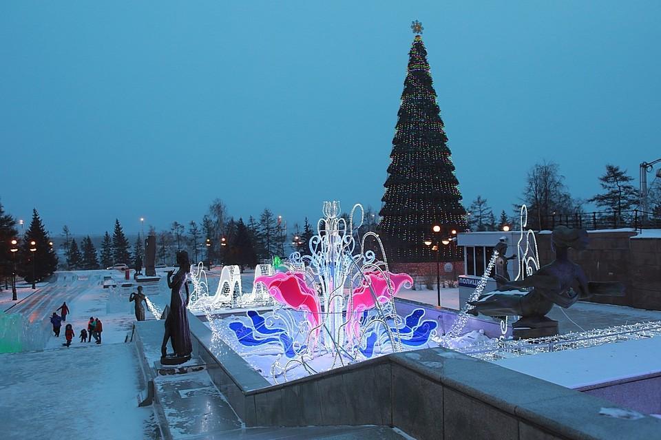 krasnoyarsk - Самые красивые в мире новогодние елки 2021