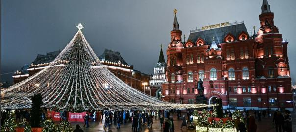 московская елка